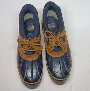 Vintage Sporto Women's Blue Waterproof Duck Boots